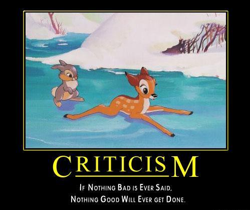 constructive criticism essay